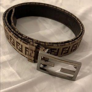 Fendi Accessories - Fendi unisex zucca belt